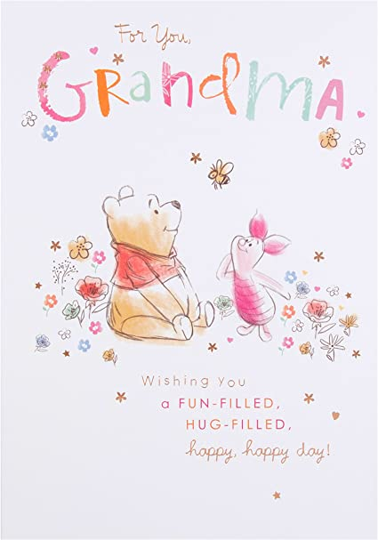 Sacchetto regalo di Winnie the Pooh dimensione grande Hallmark