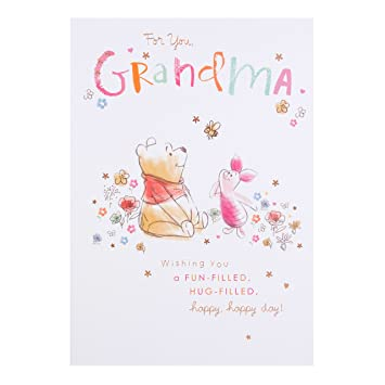 Hallmark winnie the pooh grandma birthday card hug filled medium hallmark winnie the pooh grandma birthday card hug filled medium bookmarktalkfo Image collections