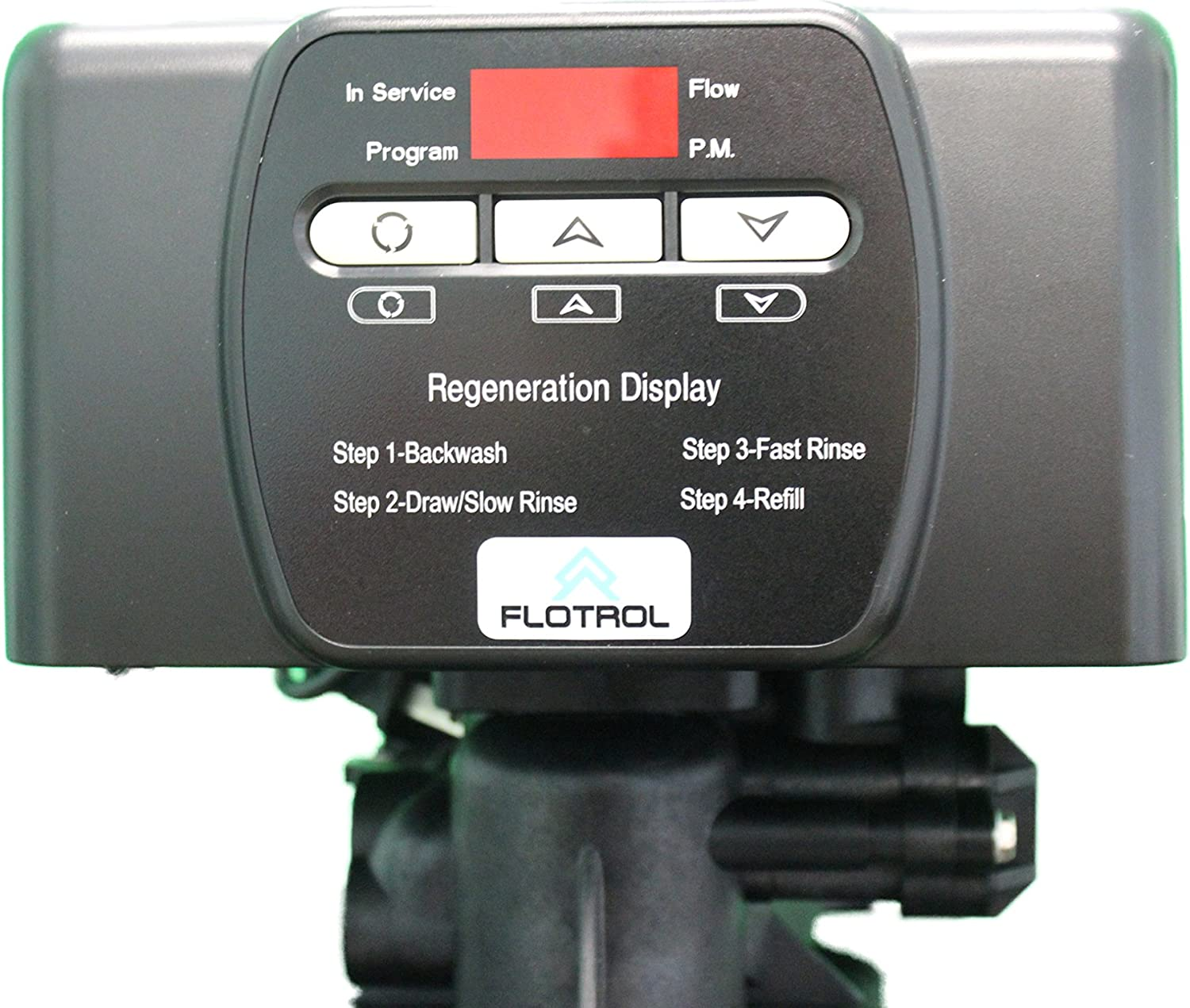 Flotrol F20 Digital Metered On Demand Water Softener Control Valve