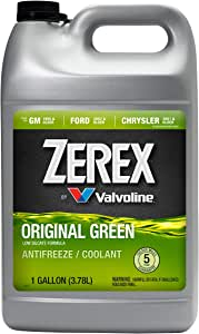 Zerex Original Green Antifreeze/Coolant 1 GA