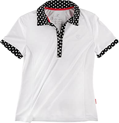 Limited Sports Polo Pearl Women - Polo para Mujer, Color Blanco ...