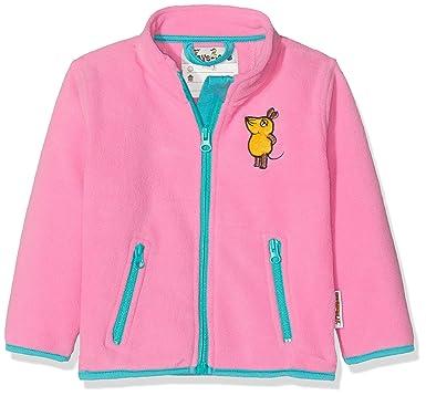 Playshoes Baby-M/ädchen Fleece Maus Jacke
