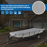 iCOVER 14ft Jon Boat Cover- Water Proof Heavy Duty