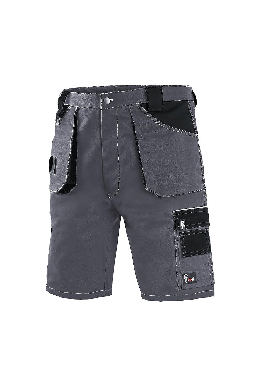 Pantaloncini molto resistenti Pantaloni da lavoro Pantaloni da Garage da giardino CXS Pantaloncini da lavoro da uomo professionali