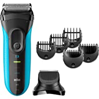 Braun 3010BT Wet and Dry Electric Shaver, S3 Shave and Style