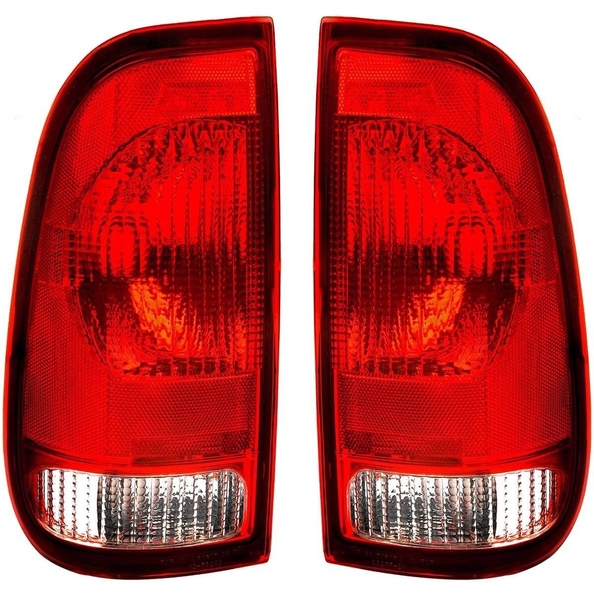 Tail Light Assemblies Brake 2001 Dodge Ram 1500 Wiring Diagram For Reverse Lights Ford Replacement Unit 1 Pair By Autolightsbulbs