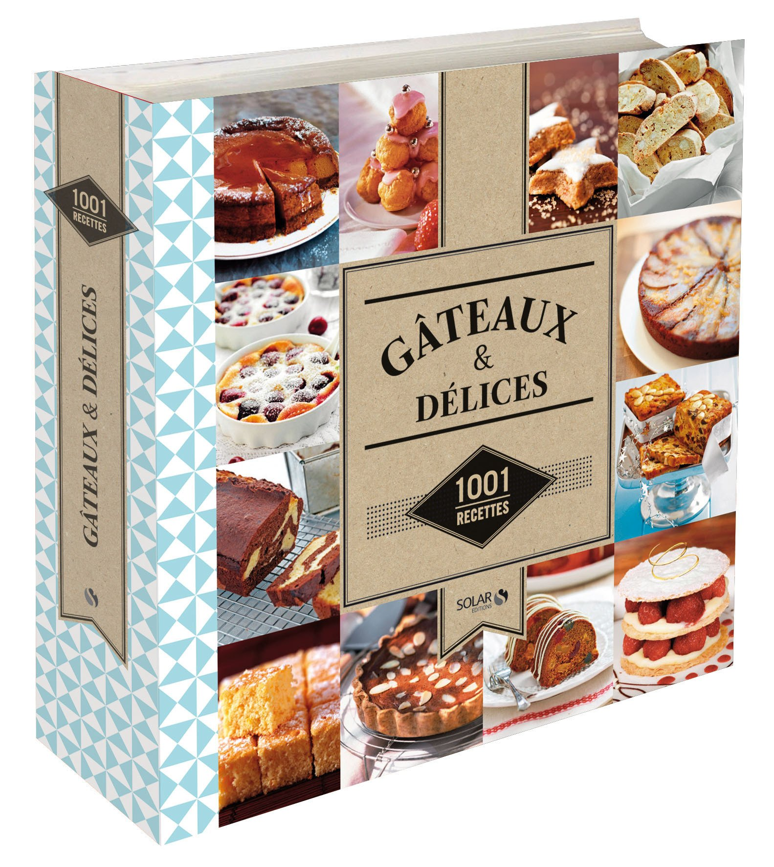 Amazon.fr - Gâteaux & Délices - 1001 recettes NE - Estérelle COLLECTIF -  Livres
