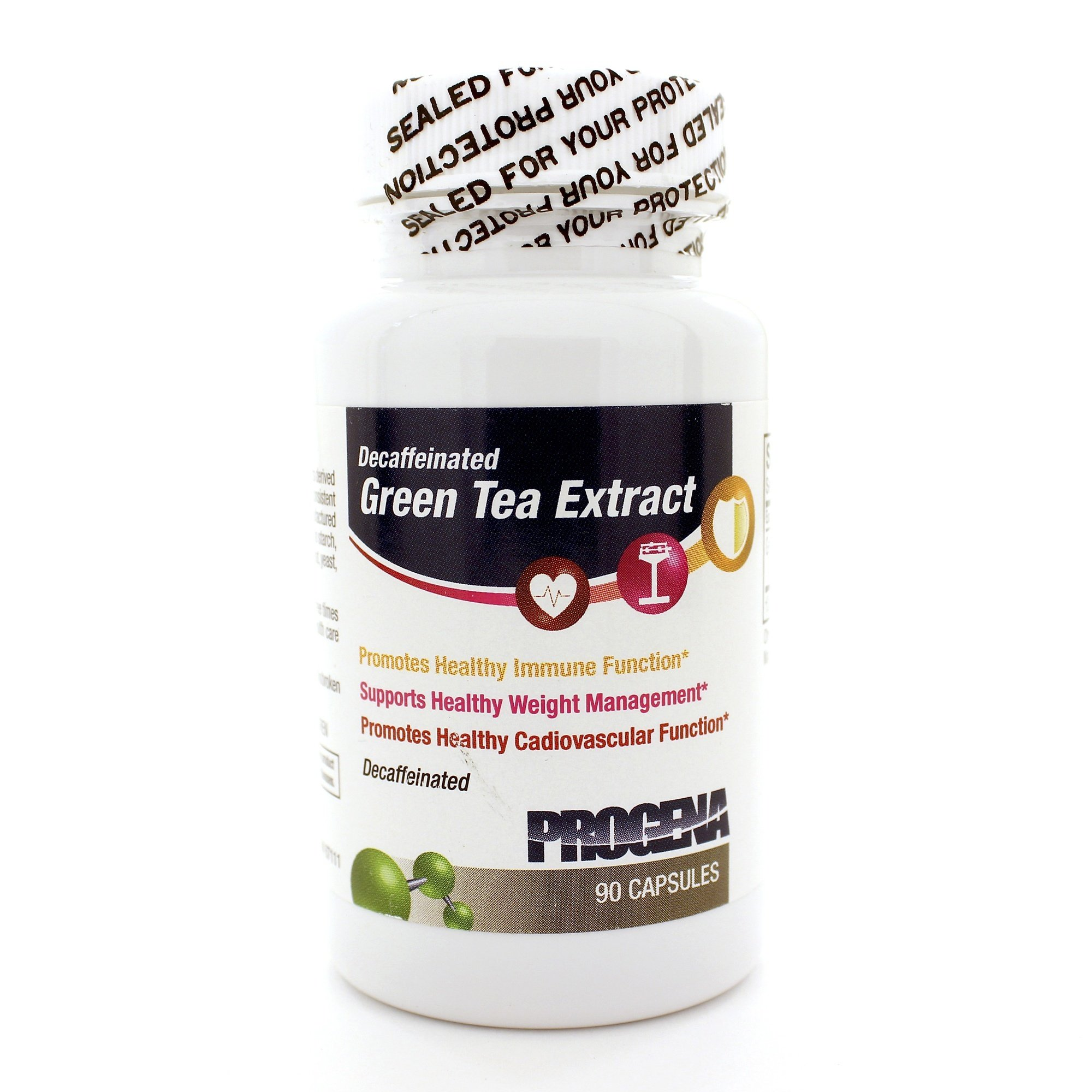 Green Tea Extract/Decaf 500mg 90 Capsules (Pack of 2)