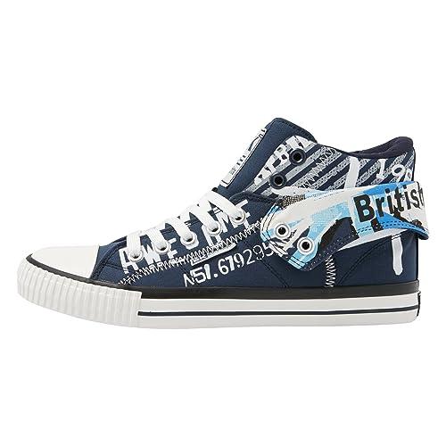 British Knights Roco Uomini Alte Sneakers Venta Barata 2018 Compra Salida Aclaramiento Wiki pvG6v6RKvl
