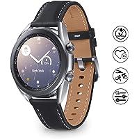 Samsung Galaxy Watch 3 Smartwatch Bluetooth, behuizing 41 mm, staal, lederen band, satuurmeter, valherkenning…