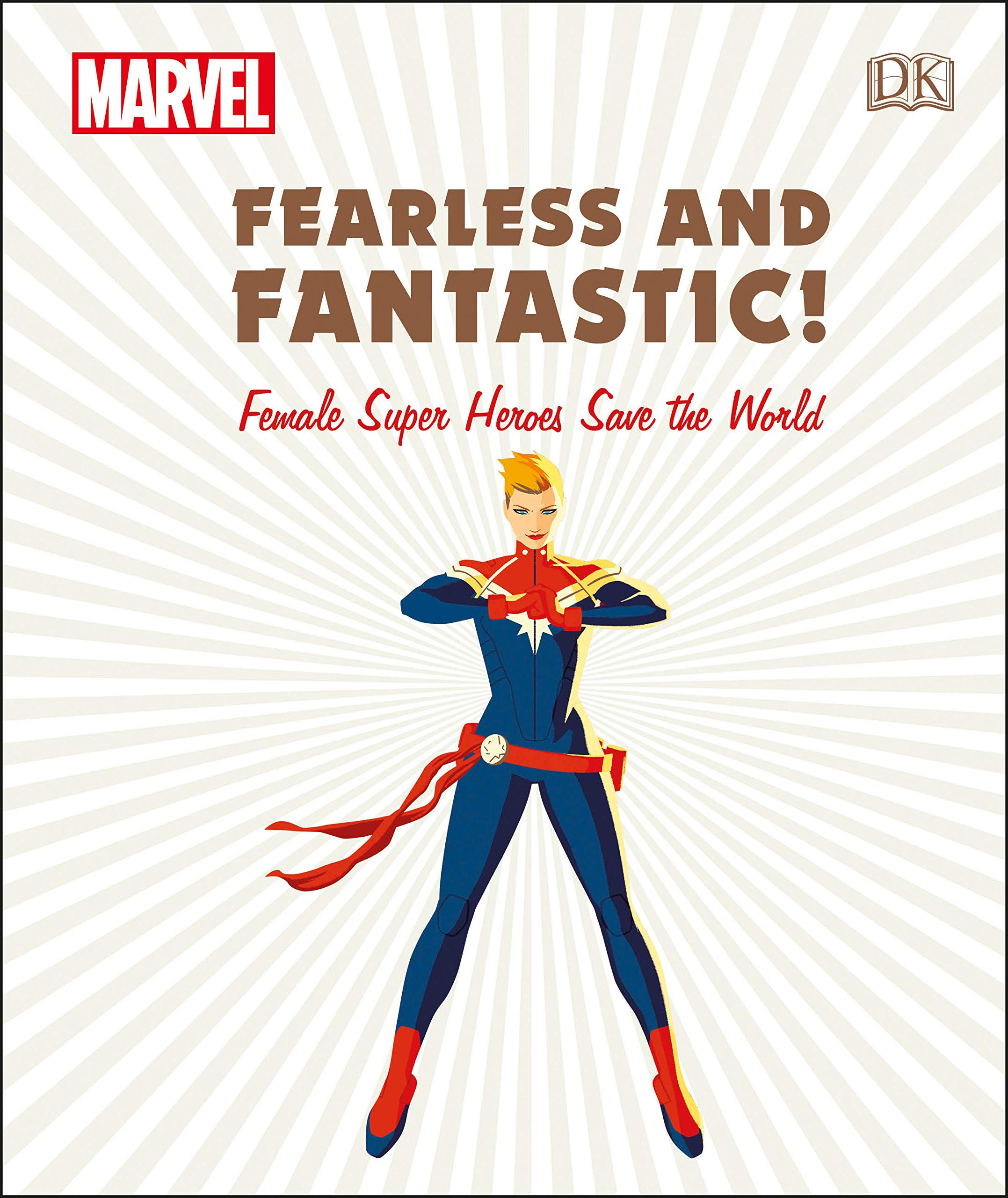 8adb2fbe3a35 Marvel Fearless and Fantastic! Female Super Heroes Save the World Hardcover  – December 18