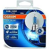 OSRAM 64212CBI-HCB COOL BLUE INTENSE H8 Halogen-Scheinwerferlampe, 12V PKW, Duobox (2 Stück)