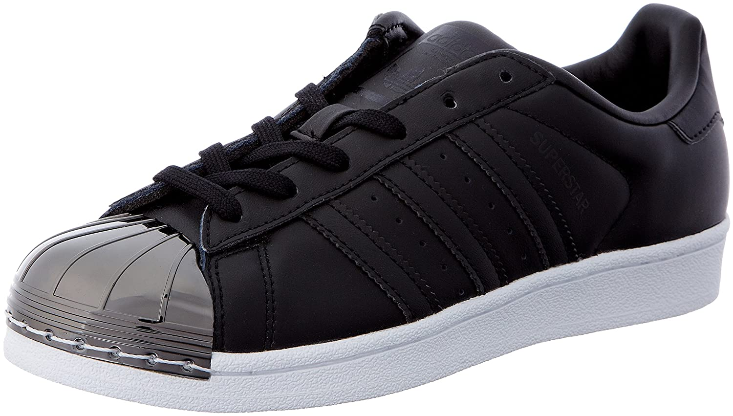 adidas Superstar Metal Toe, Sneakers Basses Femme Metal Noir Sneakers adidas (Cblack/Cblack/Ftwwht) 8c7ab04 - robotanarchy.space