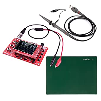 Jyetech Dso 138 Oszilloskop Diy Kit Mit 100mhz Sonde Clip Probe Esd Safe Silikon Matte Gewerbe Industrie Wissenschaft