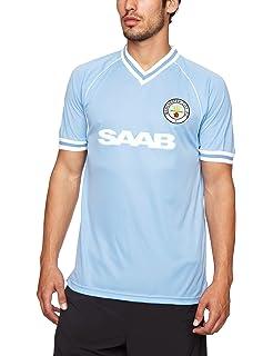 703cd826bba Official Retro Manchester City 1989 Retro Football Shirt 100 ...