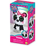 """The Orb Factory Panda 3D Arts and Crafts (510 Piece), Black/White/Grey/Pink, 5"""" x 4"""" x 10"""""""