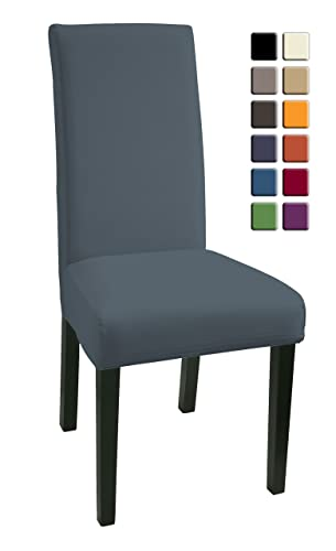 SCHEFFLER HOME Mia Chair Covers For Dining Room 2 Pcs Stretch Chaircover Elastic