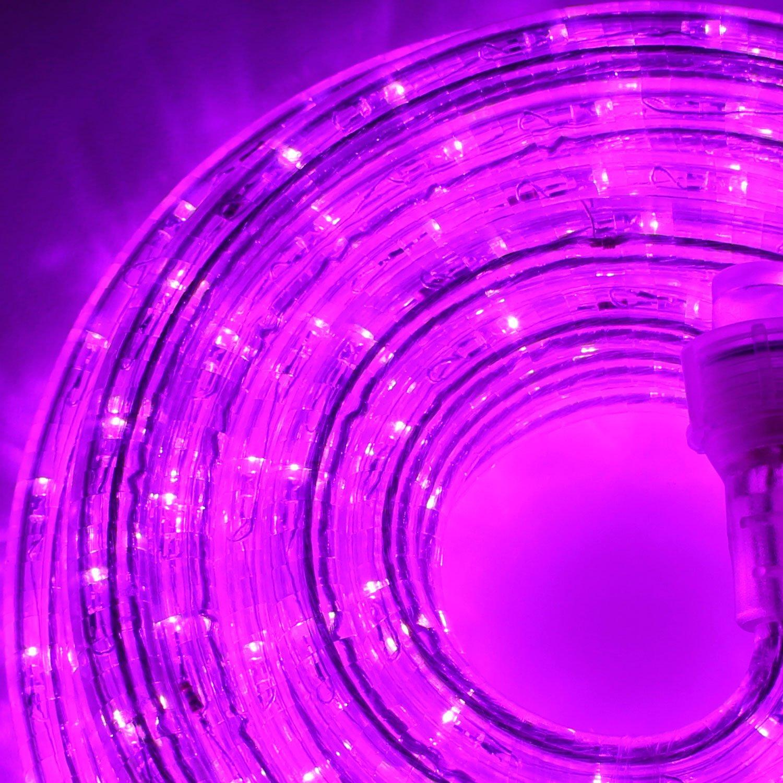 kitchen great dp lights home light party submersible centerpiece led com amazon purple tea for