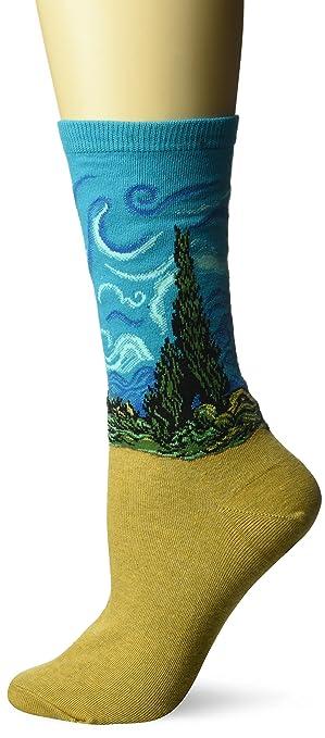 Hot Sox calcetines de la serie artista de las mujeres - Rosado -: Amazon.es: Ropa y accesorios
