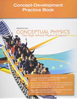 Amazon conceptual physics the high school physics program conceptual physics 2009 concept development practice workbook fandeluxe Image collections