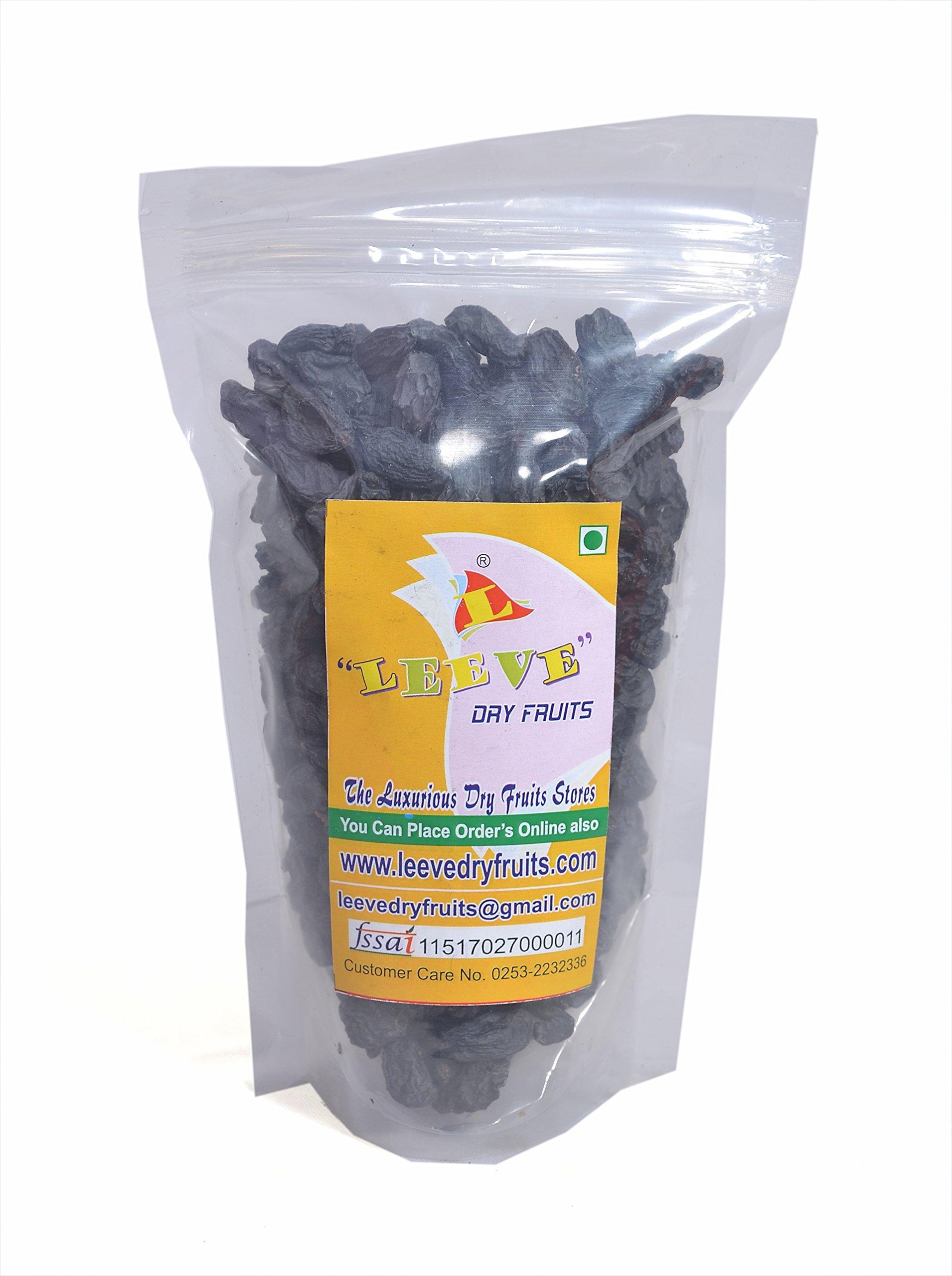 Leeve Dry Fruits Standard Afghan Black Raisins Kali Kishmish - 400 Grams