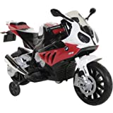 BMW S1000RR Motorcycle Ride-On, Black/Red/White