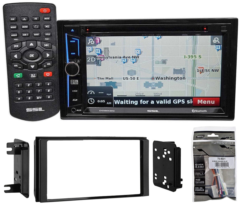 Amazon.com: 08-12 Subaru Impreza WRX STI Navigation DVD Receiver ...