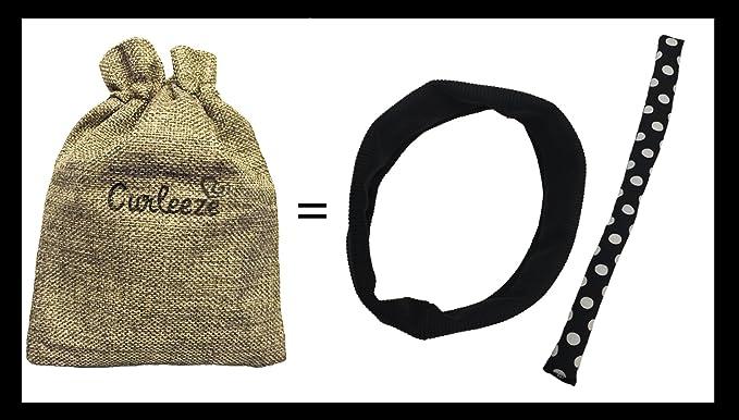 Amazon.com: Rizador de pelo curleeze banda: Clothing