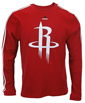 Adidas Houston Rockets NBA Camiseta de Manga Larga térmica para Hombre - Rojo, Rojo: Amazon.es: Deportes y aire libre