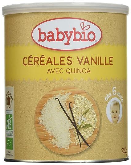 Babybio Cereales Vainilla - 220 gr
