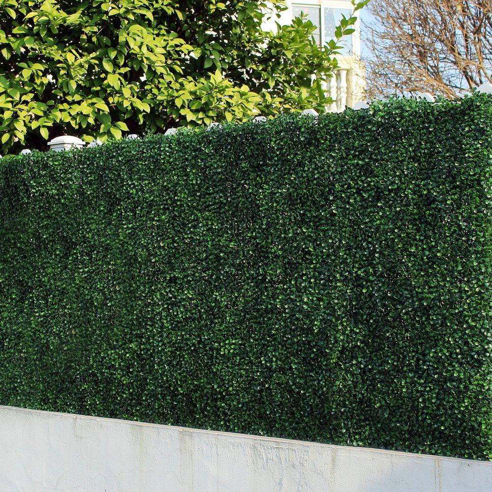 Uland 1 qm Kunststoff Absperrzaun Künstliche Buchsbaum Hecke
