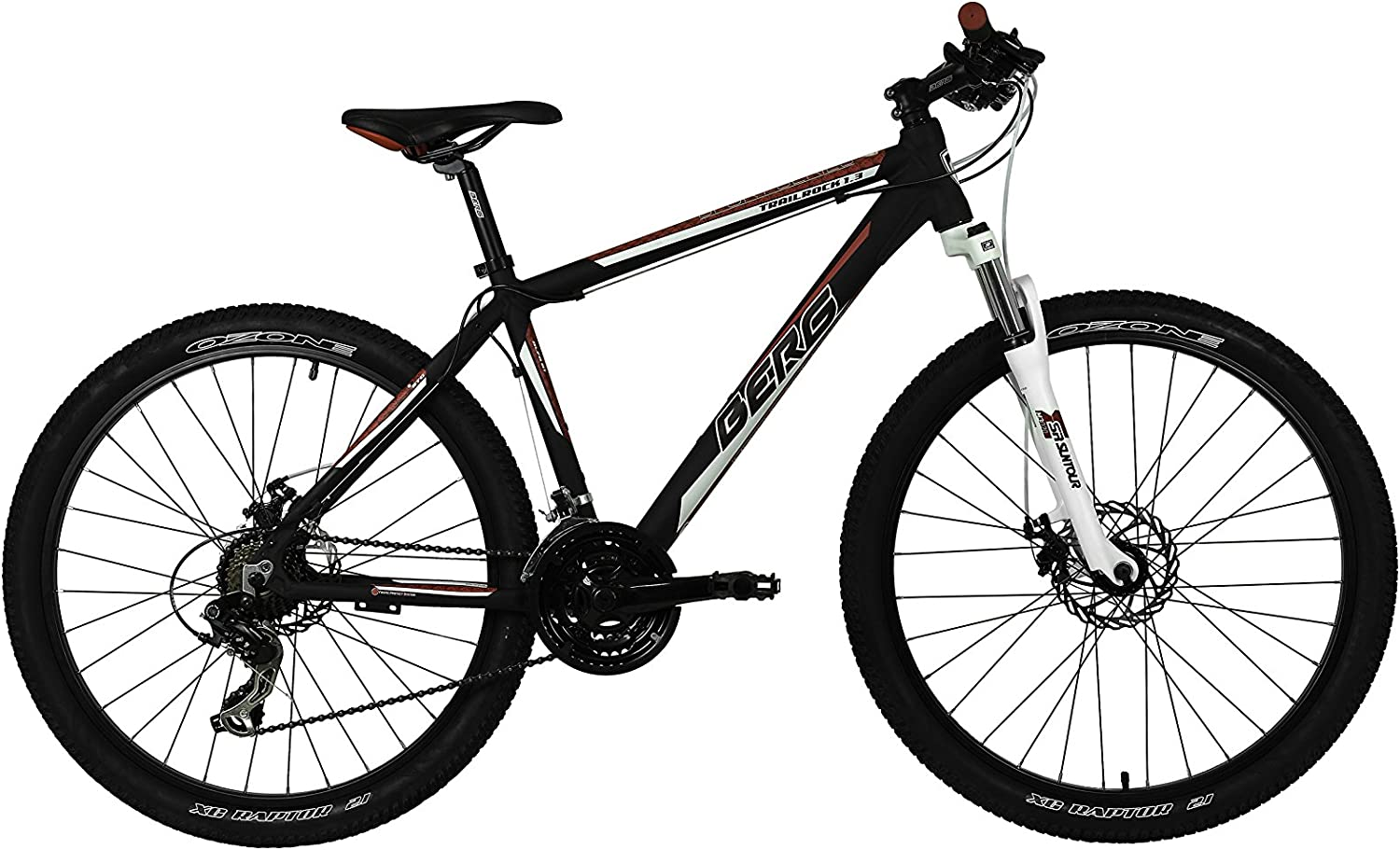 Berg Cycles Bicicleta Trailrock 1.3 Negro 21(XL): Amazon.es: Deportes y aire libre