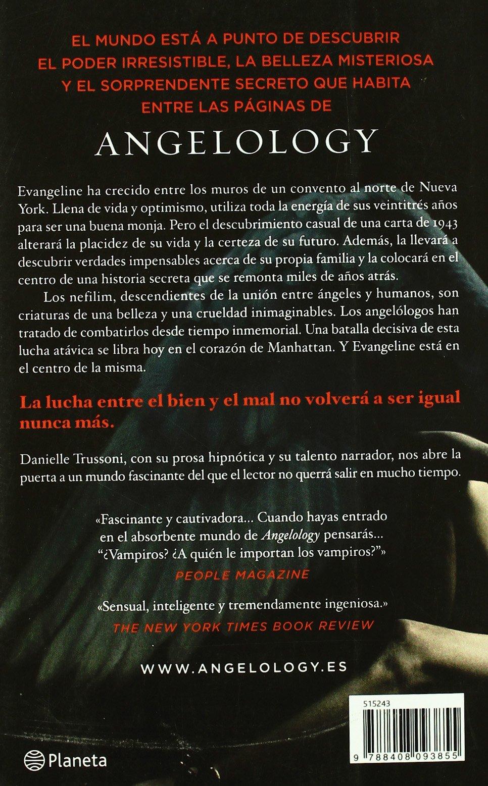 Angelology El Libro De Las Generaciones Spanish Edition Danielle Trussoni 9788408093855 Amazon Books
