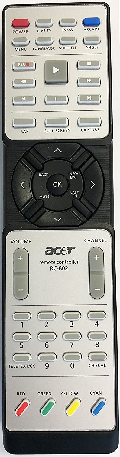 Acer RC-802 Remote Control for Acer Aspire Series 9110 9510 9520 9800 9810 and More