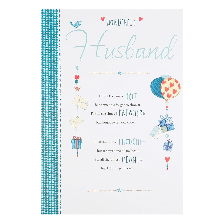 Hallmark Husband Birthday Card Wonderful