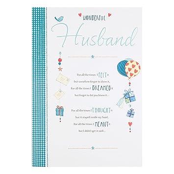 Amazon.com: Wonderful Husband – I Love You Lujo Sentimental ...
