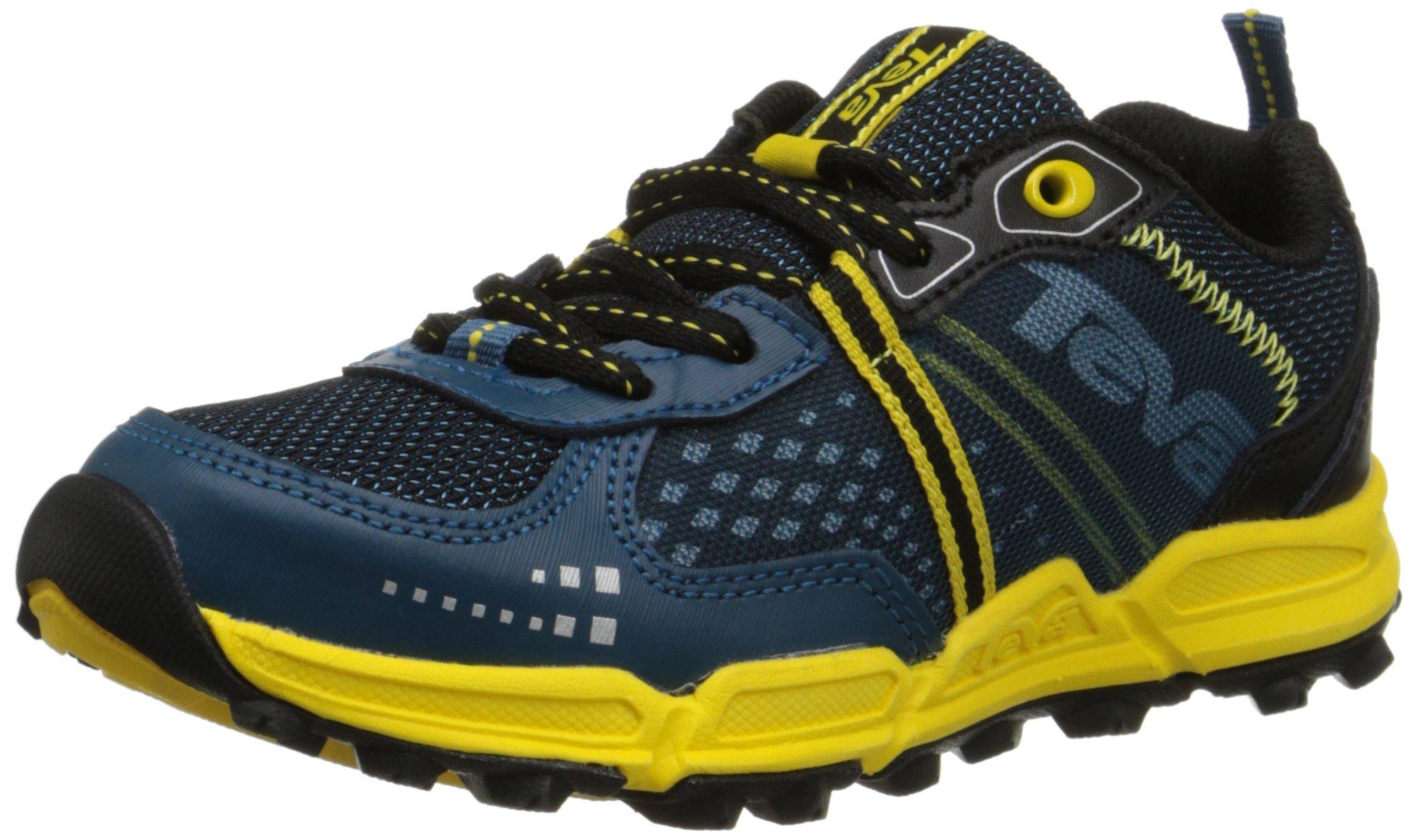 Teva Escapade Lo Athletic Trail Shoe (Little Kid/Big Kid), Blue/Yellow, 11 M US Little Kid by Teva (Image #1)