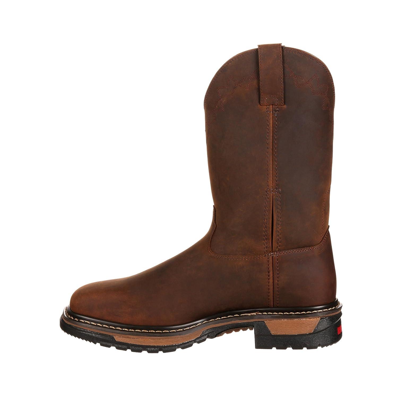 Rocky Mens Original Ride Western Work Boot