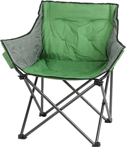 Amazon.com: PORTAL - Sillón grande plegable para acampada ...