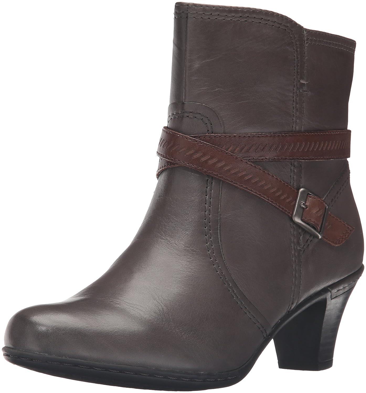 Rockport Women's Cobb Hill Missy Boot B01AK669M6 8 W US|Grey