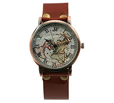 skip brown accessories watches gold beginning gallery the to images chronograph of leather dark watch dufa