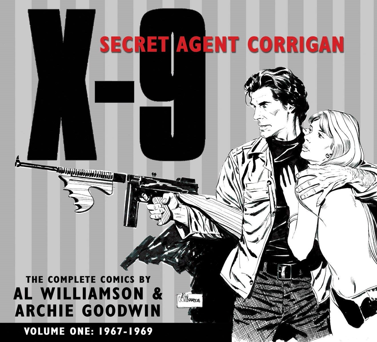 Download X-9: Secret Agent Corrigan Volume 1 pdf
