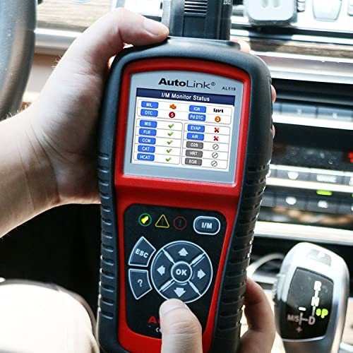 Autel AL519 AutoLink Enhanced OBDll Scan Tool is one of the best Autel Scanners for DIYers.