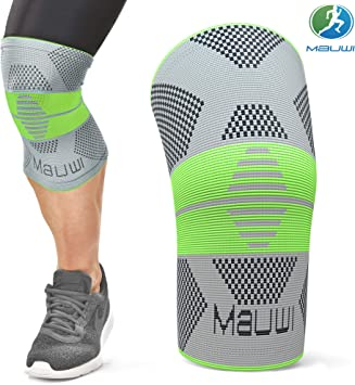 Amazon Com Mauwi Knee Brace Knee Support For Men Women Knee Compression Sleeve For Running Basketball Weightlifting Workout Crossfit Knee Stabilizer Brace For Meniscus Tear Arthritis Sports Outdoors