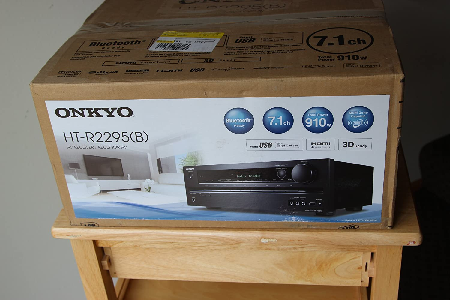 Amazon.com: Onkyo HT-R2295 7.1-Channel Home Theater Receiver with ...
