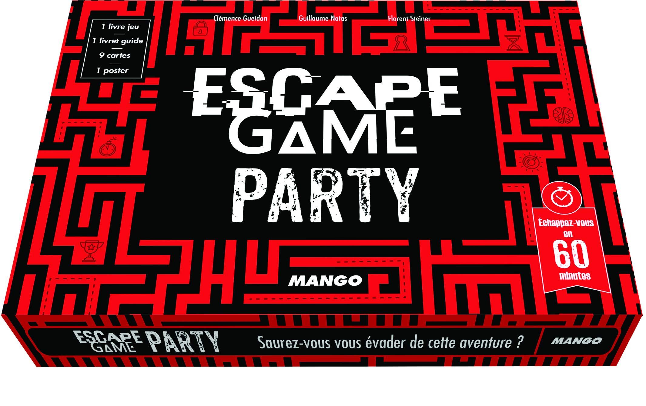 Le Labyrinthe Des Oublies Escape Game Party 9782317018824