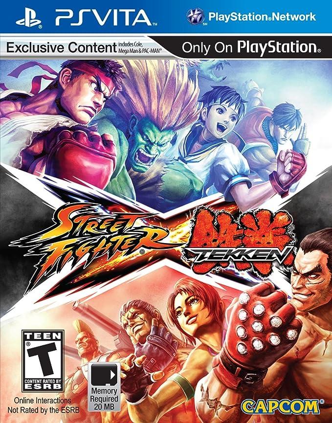 Jogo Street Fighter X Tekken - Ps Vita - Capcom