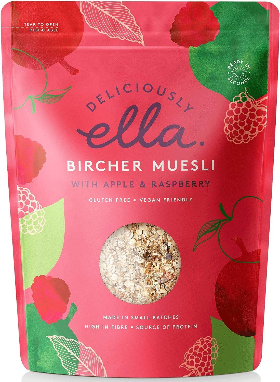 Deliciously Ella Bircher Muesli 500 G Pack Of 4 Amazon Co Uk Grocery