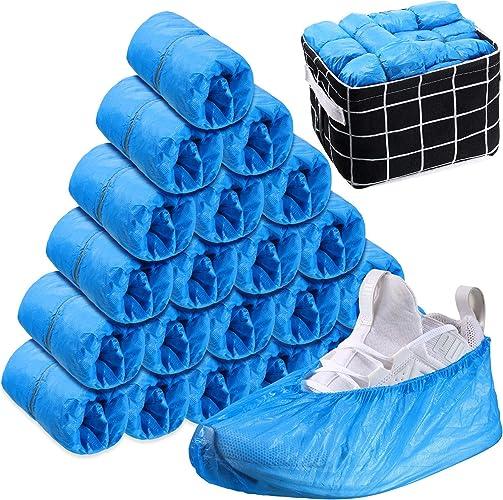 Jetables en plastique Overshoes chaussures Tapis Couvre Chaussure Protector 10,20,30,40,50