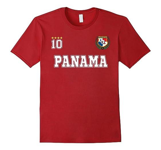 Mens Panama soccer Tshirt - Camiseta de futbol de Panama 2XL Cranberry
